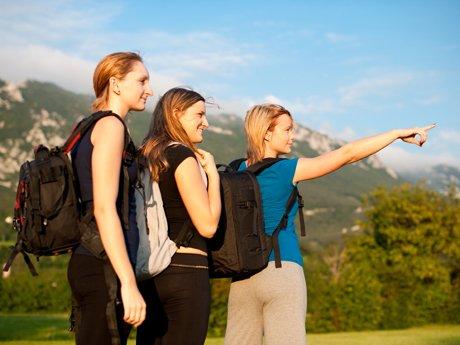 Turistas del siglo XXI. Entre amigos